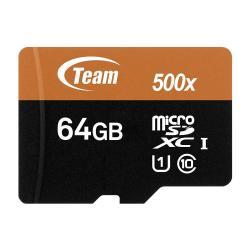 Karta-pamet-Team-Group-64GB-Micro-SDHC-SDXC-UHS-I-Orange-Card-SD-Adapter