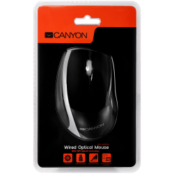 CANYON-wired-optical-mouse-with-3-buttons-DPI-1000-USB2.0-Black-Silver-cable-length-1.2m-107*71.5*39.8mm-0.078kg