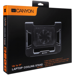 Canyon-Laptop-Cooling-Stand-for-laptop-up-to-17-black-cable-length-0.6m-370*295*55mm-0.15kg