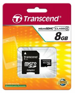 Transcend-8GB-microSDHC-with-adapter-Class-4-