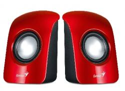 Tonkoloni-GENIUS-SP-U115-1.5W-USB-cherveni