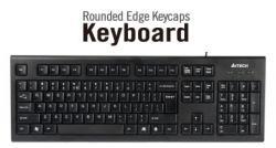 Klaviatura-A4tech-KR85-USB-Cherna