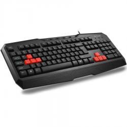 DELUX-DLK-9020-USB-Gaming-Multimedia-Function-Fast-Win-Lock-button-Black-Bulgarian