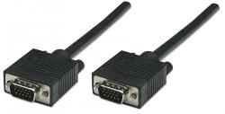 MANHATTAN-390675-Kabel-za-monitor-SVGA-15M-M-3.0-m