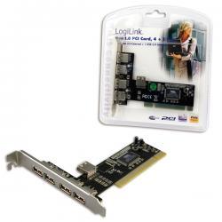 PCI-card-4-ext-1-int-USB2.0-port-LogiLink-PC0028